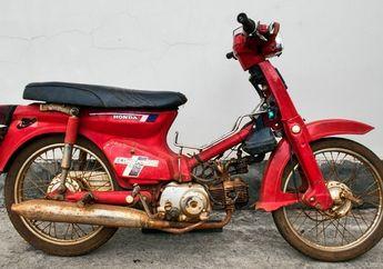 Kolektor Dijamin Ngiler, Restorasi Honda C70 Karatan Mangkrak 42 Tahun Dibikin Kinclong Lagi