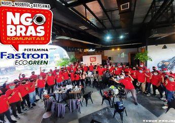 Seru! Pertamina Lubricants Gelar Ngobrol Bareng Komunitas di Lampung, Sekalian Bagi-bagi Doorprize!