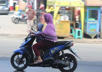 Street Manners: Anak Mengantuk Saat Dibonceng Motor, Intip Triknya dari Pakar Keselamatan Berkendara