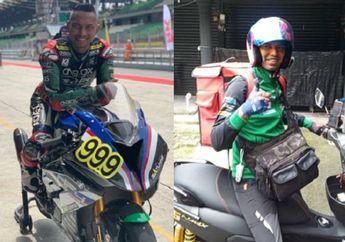 Salut, Mantan Pembalap Moto2 Jadi Pengantar Makanan di Tengah Pandemi Covid-19