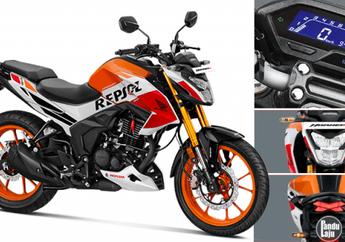 Wow Honda Tiger Reborn Mengusung Mesin Kelas 200 cc Injeksi dan Sok Depan Upside Down
