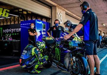 MotoGP Portugal 2020 Jadi Balapan Terakhir Bersama Tim Pabrikan, Valentino Rossi Kasih Pesan Menohok ke Yamaha