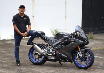 Yamaha R15 Modifikasi Ala Moge 600 Cc, Kekar Tapi Enggak Kedodoran