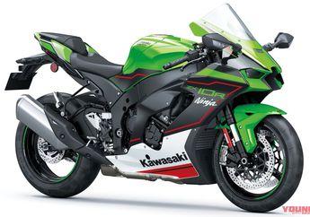 Kawasaki Ninja ZX-10R 2021 Resmi Diperkenalkan, Superbike Canggih Segini Harganya