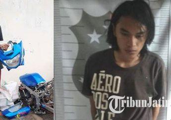 Nah Loh, Jual Sparepart Oplosan dari Motor Hasil Curian, Pria Ini Kena Batunya Terancam 7 Tahun Penjara