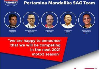 Mandalika Racing Team Indonesia Gandeng Tim Spanyol Hadapi Moto2 2021, Nama TIm Berganti