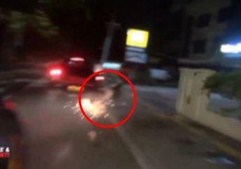 Tanjung Priok Mencekam, Viral Video Polisi Kejar-kejaran Lawan Geng Motor yang Bawa Celurit
