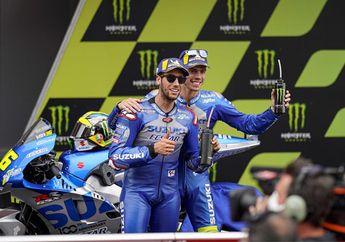 Monster Energy Gabung Tim Suzuki MotoGP Musim Depan, Valentino Rossi Ikut Keseret-seret
