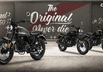 Harga Lebih Murah Rp 5 Jutaan Motor Baru Tampang Retro Pesaing Kawasaki W175 Resmi Dilaunching