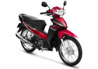 Meluncur Motor Bebek Baru Honda Desain Sporty Harganya Murah Banget