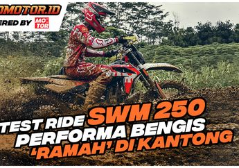 Video Test Ride SWM RS250R, Performanya Bengis Harganya Gak Sebengis Performanya