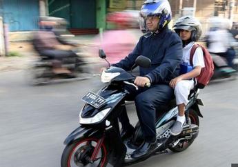 Anies Baswedan Positif Covid-19, Ternyata Sering Antar Anak ke Sekolah Naik Motor