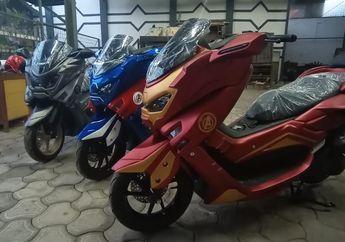 Asyik Ada Yamaha NMAX Edisi Avenger, Bikin Keren Kaya Iron Man, Harganya Murah Meriah