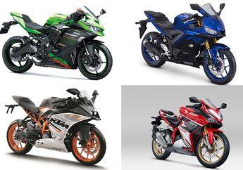 Segini Harga Kawasaki Ninja 250 dan Motor Sport Fairing 250 cc Lainnya Desember 2020, Mana yang Termurah?