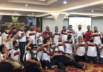 Mantul, Motor Besar Club Indonesia (MBCI) Lantik Kepengurusan MBC Bandung Periode 2021-2024