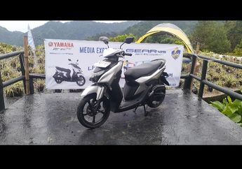 First Impression Riding Bareng Yamaha Gear 125, Medan Cukup Ekstrem, Wow Begini Rasanya
