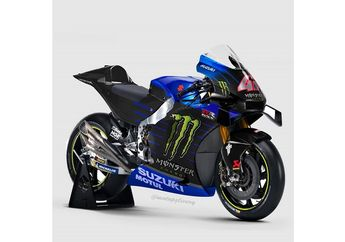 Monster Energy Jadi Sponsor Suzuki di MotoGP, Livery Suzuki GSX-RR Bakal Kayak Gini?