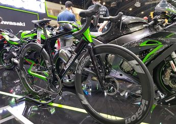 Wuih Diam-diam Kawasaki Luncurkan Road Bike, Desain Ganteng Harganya Cuma Segini