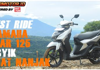 Video Test Ride Yamaha Gear 125, Lincah Dan Asyik Diajak Nanjak