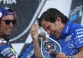 Setelah Pembalapnya Juara Dunia MotoGP 2020, Bos Suzuki Incar Ini