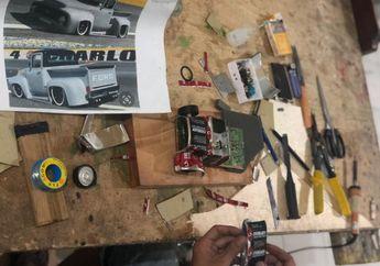 Dua Jempol! Kreativitas Warga Binaan Ini Bikin Melongo, Motor Custom dan Replika Mobil Klasik dari Limbah