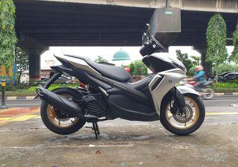 Modifikasi Yamaha All New Aerox Pakai Cakram Belakang, Segini Modalnya