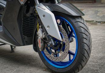 Modal Rp 800 Ribuan Bisa Modifikasi Motor Repaint Pelek Di Yamaha XMAX