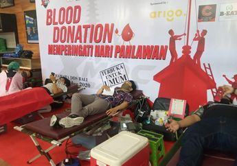 Peduli Sesama, Club XMAX Bali Gelar Donor Darah