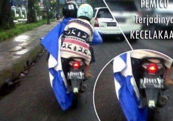 Street Manners: Pakar Safety Riding Kasih Saran Jangan Pakai Jas Hujan Ponco