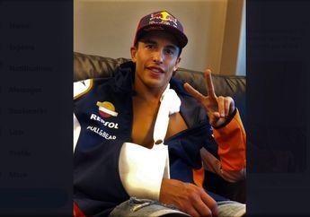 Marc Marquez Banjir Dukungan, Kompak Pakai Tagar #AllWithMarc