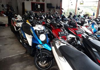 Cari Motor Matic Seken Rp 7 Jutaan Ada Honda BeAT atau Yamaha X-Ride