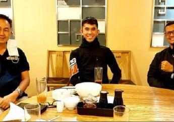 Ada Apa Nih, Mandalika Racing Team Indonesia Temui Pembalap Motor Gerry Salim