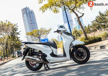Modifikasi Motor Honda SH300i Bertabur Part Mewah Plus Kaki Gahar