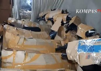 Puluhan Motor Bodong Diangkut, Polisi Sampai Lepas Tembakan Peringatan