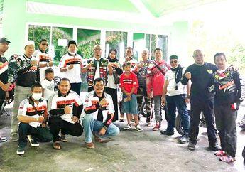 Tepis Citra Negatif Bikers Moge, Motor Besar Club Indonesia Chapter Indramayu Bangun Masjid