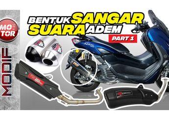 Pilihan Knalpot Yamaha NMAX 2020, Mulai R9, WRX Sampai Pro Speed