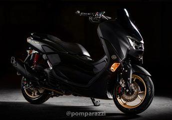 Mewah, Modifikasi Motor Yamaha NMAX Baru Asal Thailand, Fokus Pengereman