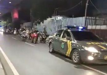 24 Bikers Terciduk Balap Liar Dorong Motor dari Antarsari ke Cilandak