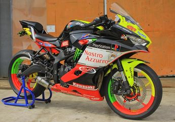 Kawasaki Ninja ZX-25R Airbrush Valentino Rossi, Siapkan Biaya Segini