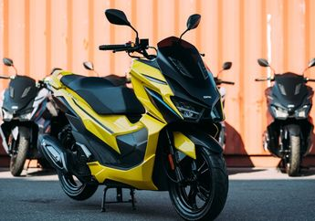 Gak Nyangka Motor Baru Pesaing Yamaha NMAX dan Honda PCX Laku Keras