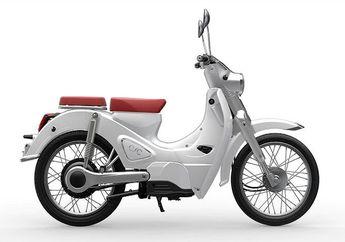 Motor Listrik Mirip Motor Bebek Termahal Dijual Murah, Speknya Bikin Kepo