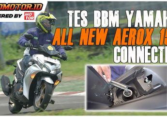 Video Tes BBM Yamaha All New Aerox 155 Connected, Irit Lho Bro