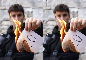 Rayain Tahun Baru Marc Marquez Malah Bakar Kertas, Ada Apa Nih?