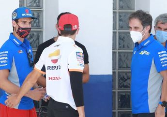 Berani Banget, Bos Suzuki Tantang Marc Marquez Di MotoGP 2021