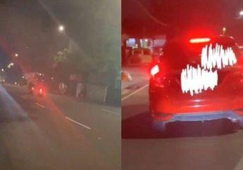 Geger Driver Ojol Dihantam Honda Jazz, Pelaku Sempat Kabur Gegara Ini