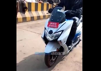 Beredar Video Spy Shot Motor Listrik Suzuki Burgman Street Electric Dijajal