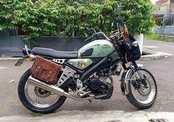 Keren, Modifikasi Motor Yamaha XSR 155 Klasik Milik Budi Dalton