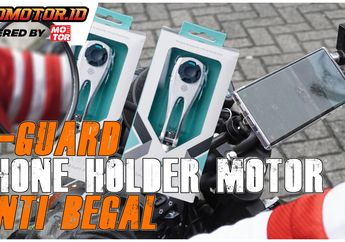 Video Pilihan Phone Holder X-Guard Yang Pas Di Motor Brother