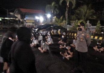 Polisi Gagalkan Aksi Balap Liar, 20 Motor 36 Pelaku Berhasil Diamankan