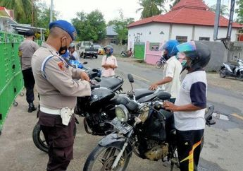 Pemilik Motor Suzuki Thunder Ditahan Polisi Gara-gara Ketahuan Beli Bensin